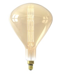 Calex XXL Sydney LED Lamp 220-240V 8W 800lm E27 R250, Gold 2200K dimmable, energy label A+