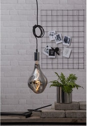 LED-lampa E27 A165 Industrial Vintage Dark