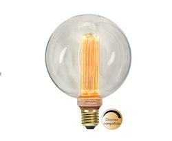 LED-LAMPA E27 G125 NEW GENERATION CLASSIC