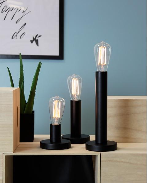 LAMPFOT E27 GLANS