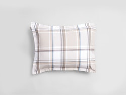 Flannel Check Örngott 50x60 cm Grey