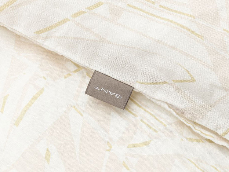 Cotton Linen Grow Påslakan Putty 150x210 cm