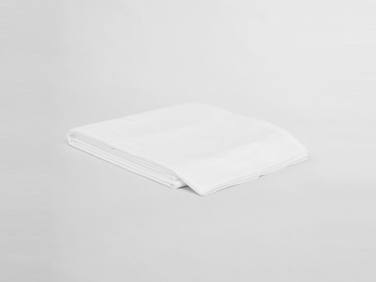 Satin Slätt Underlakan 260x260 cm White
