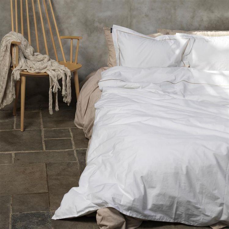 Örngott Ekologisk Percale Siri white/cobblestone 50X60 cm