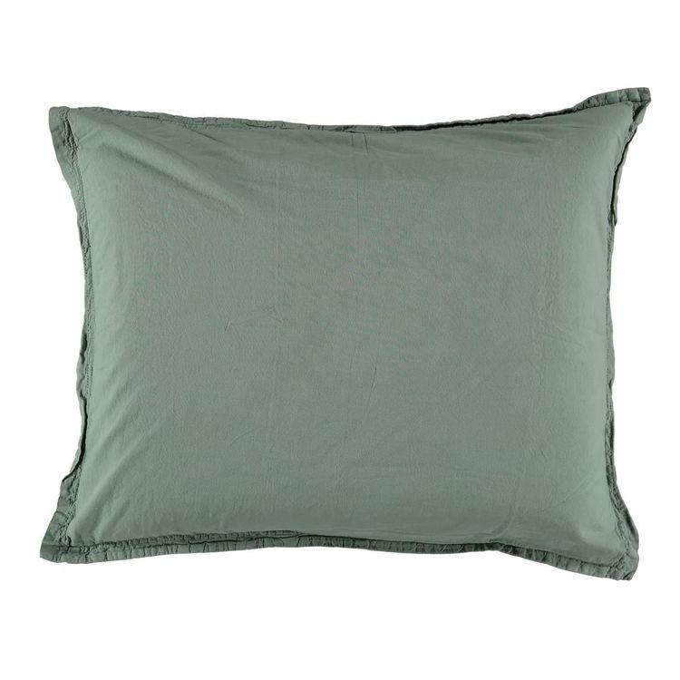 Påslakanset Vintage GOTS Ekologisk Lily Green 150X210 + 50X60 cm