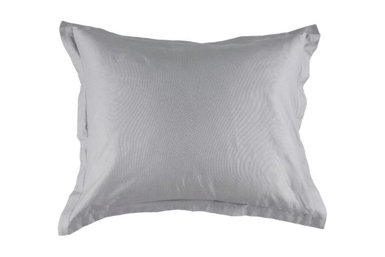 Påslakan Dobby Satin Medium Grey 150X210 cm