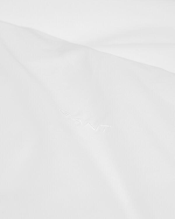 Satin Påslakan Vit 220x220 cm