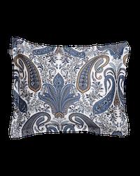 Key West Paisley Örngott Sateen Blue 50x60 cm