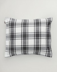 Flannel Check Örngott 50x60 cm Antracite