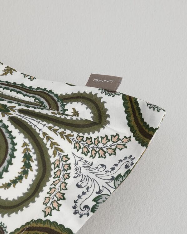 Key West Paisley Örngott Olive Branch Green 50x60 cm