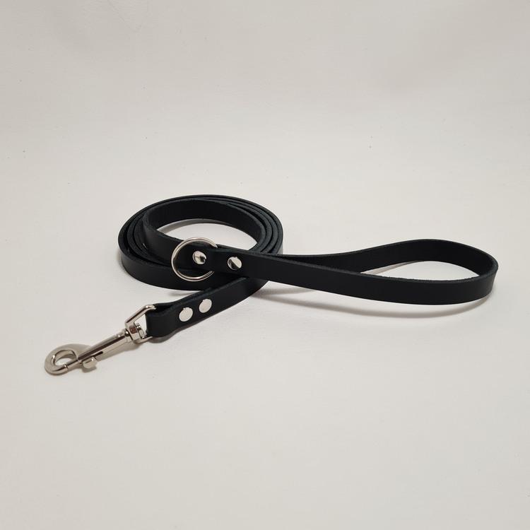 """Halsband & Koppel """"DEXTER"""" Svart 2,5cm"""