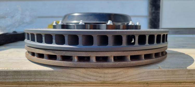 Bromskit bak Tässla Track (Big brake kit)