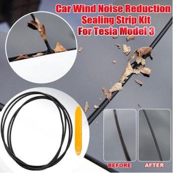 Tätningslist taklucka till Tesla Model Y