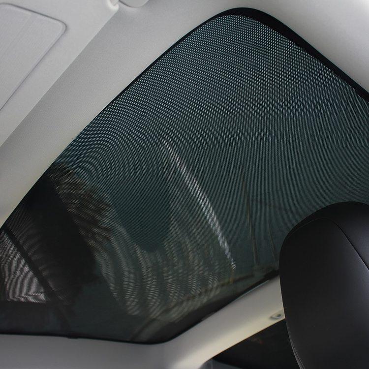 Solskydd glastak Model 3