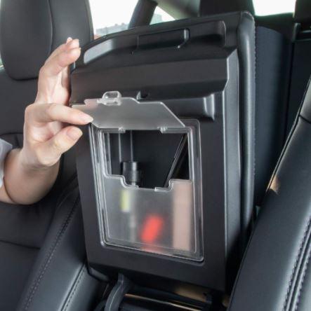 Förvaringsbox mittarmstöd