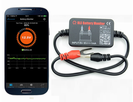 Battery monitor Bluetooth with APP