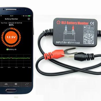 Batteri monitor blåtand med APP