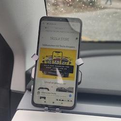 Mobilhållare snap-in