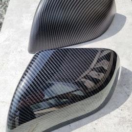 Rear-view mirror cover carbon fiber