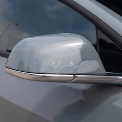 Elon Musk autograf sticker