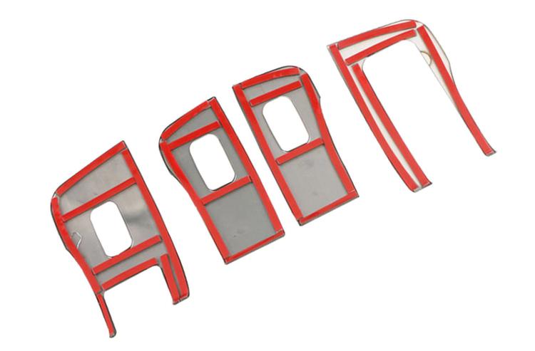 Panel rostfri dörrhandtag