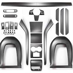 Kolfiber kit 33 delar (matt)