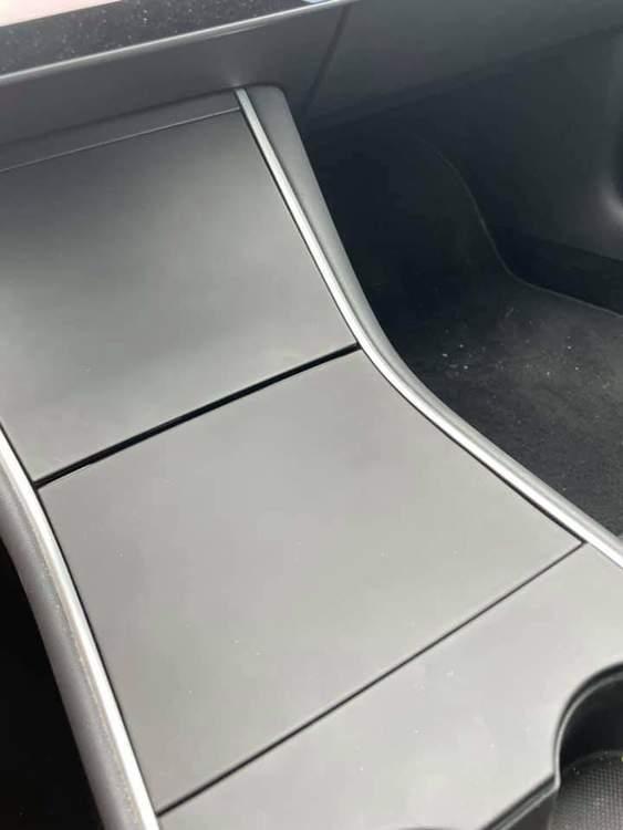 Panel inlägg mittkonsol