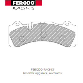 Ferodo Racing DS2500 bromsbelägg till bromskit