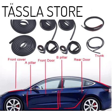 Tätningslist sats Tesla Model 3 / Model Y