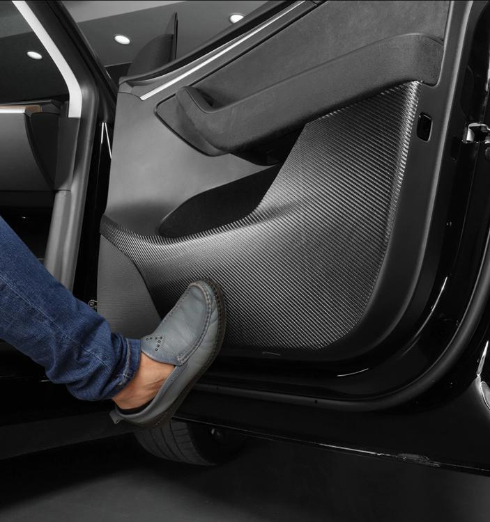 Sparkskydd dörrar Tesla Model Y