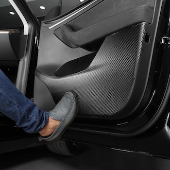 Sparkskydd dörrar till Tesla Model Y