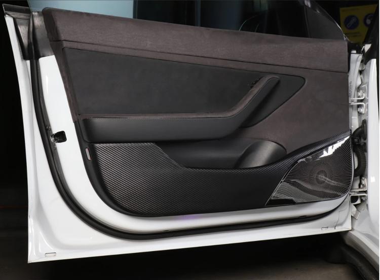 Sparkskydd dörrar Tesla Model 3