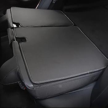 Matta för baksida baksäte till Tesla Model 3 konstläder