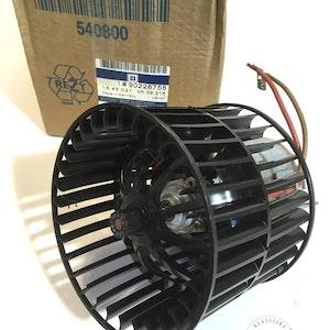Viftemotor varmeapparat