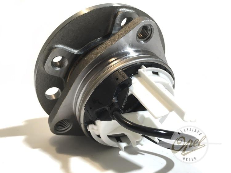 Hjullager med nav komplett med ABS