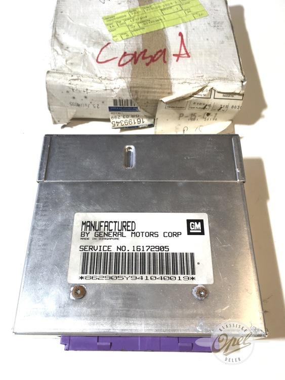 Kontrollmodul motor