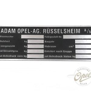 Identifikasjonsplate type 05