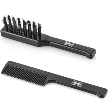 Proraso Moustache Brush and Comb Set