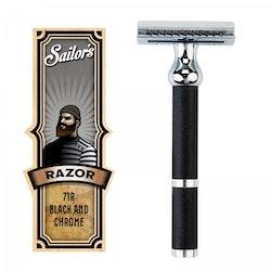 Sailor's Razor - Black and Chrome Finish 71R