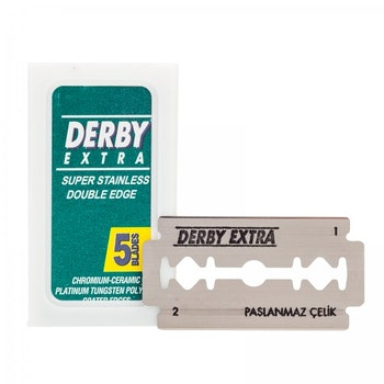 Derby Double-edge Razor Blades 5-pack