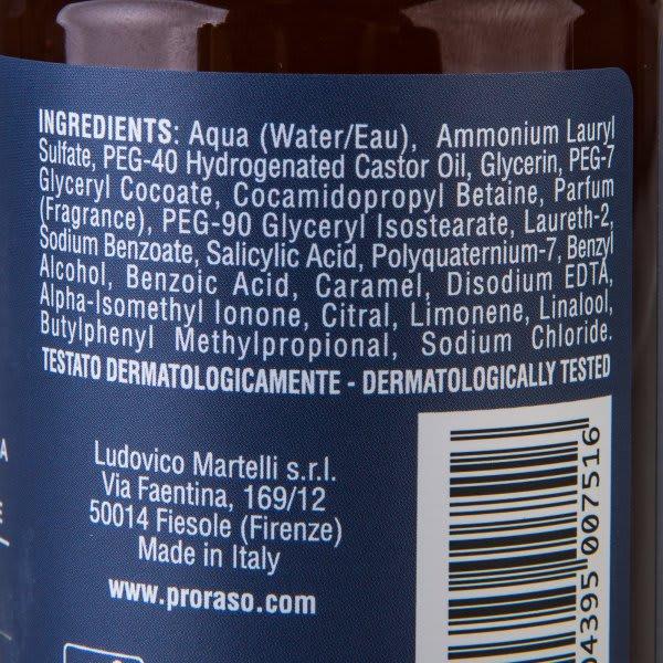Proraso Beard Shampoo Azur Lime (200 ml)