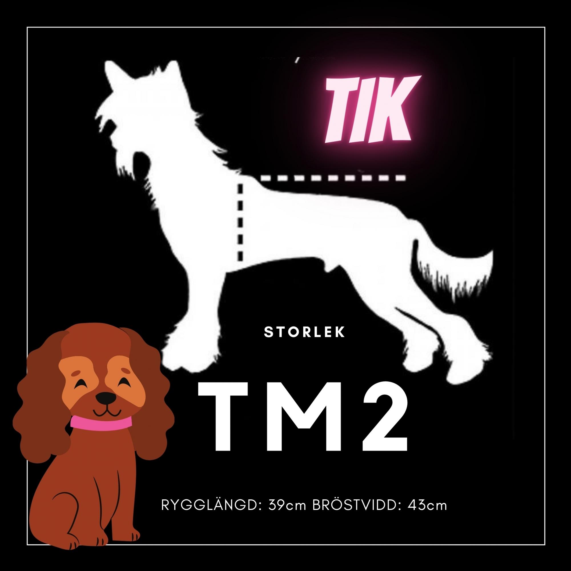 Tik Storlek TM2 - Passion For Pet Fashion