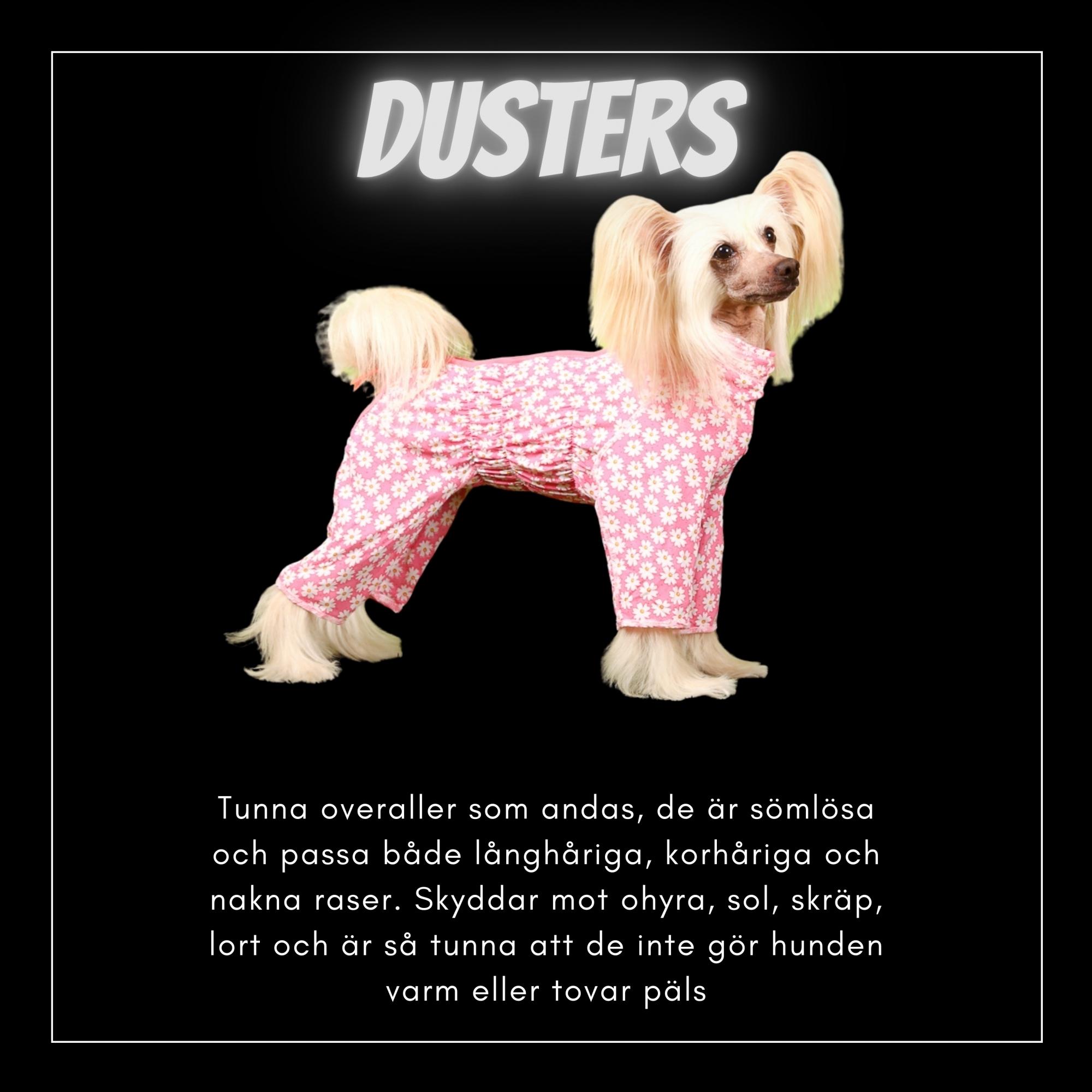 Dusters - Bred & Djupbröstade hundar - Passion For Pet Fashion