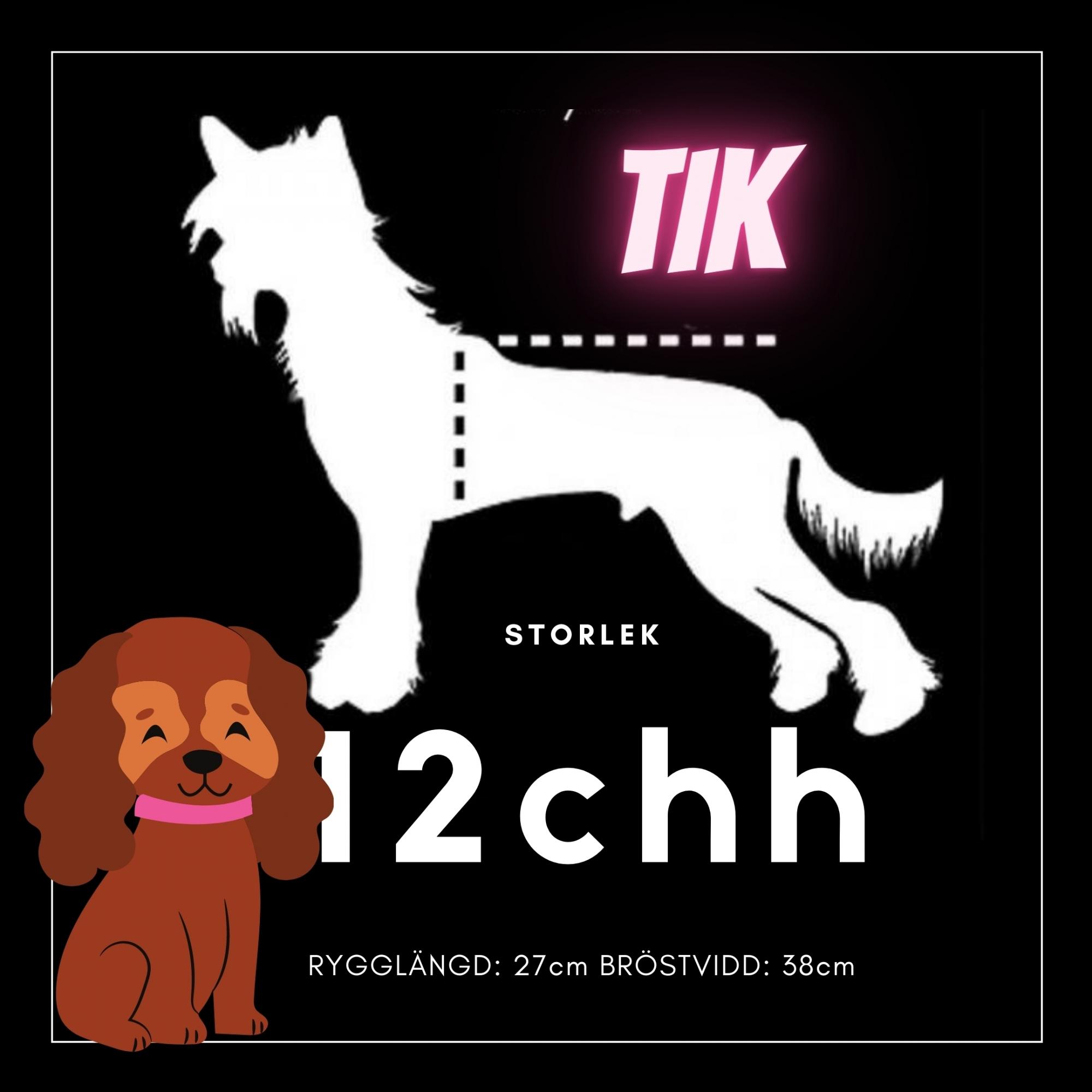 Tik Storlek 12chh - Passion For Pet Fashion