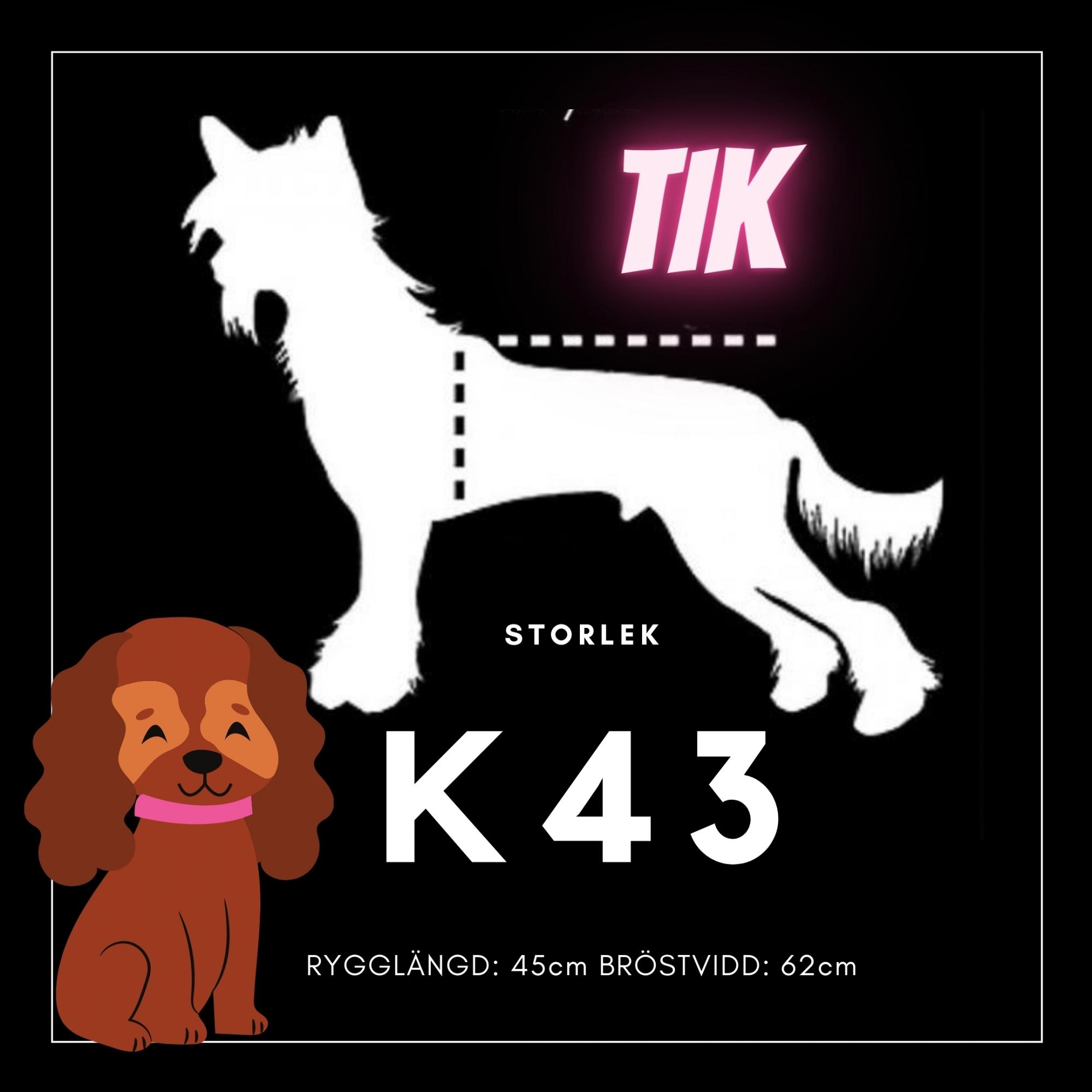Tik Storlek K43 - Passion For Pet Fashion