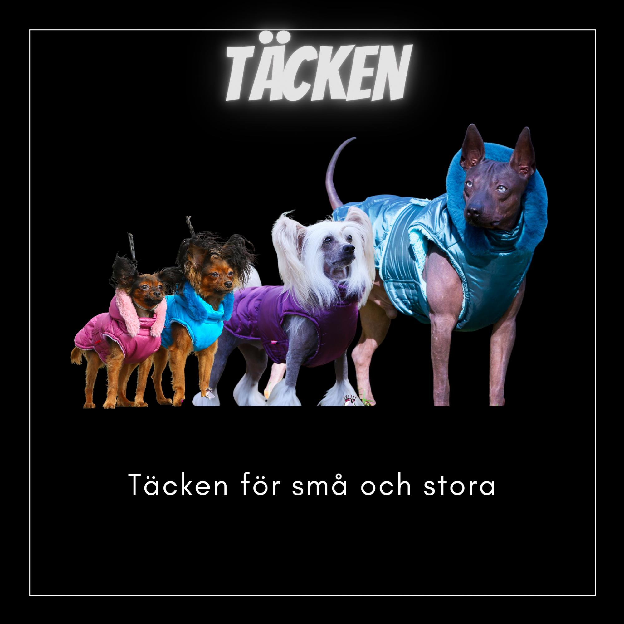 Täcken - Kortbenta & Långryggade hundar - Passion For Pet Fashion