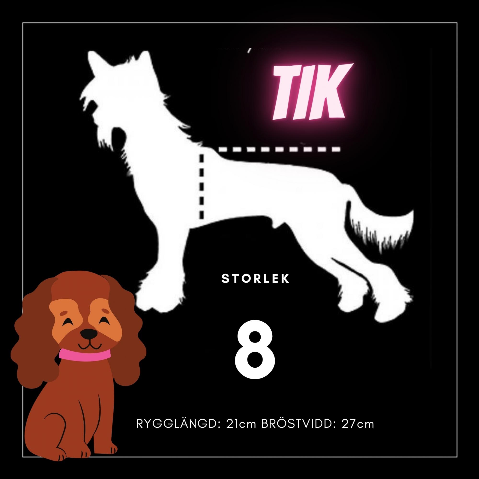 Tik Storlek 8 - Passion For Pet Fashion