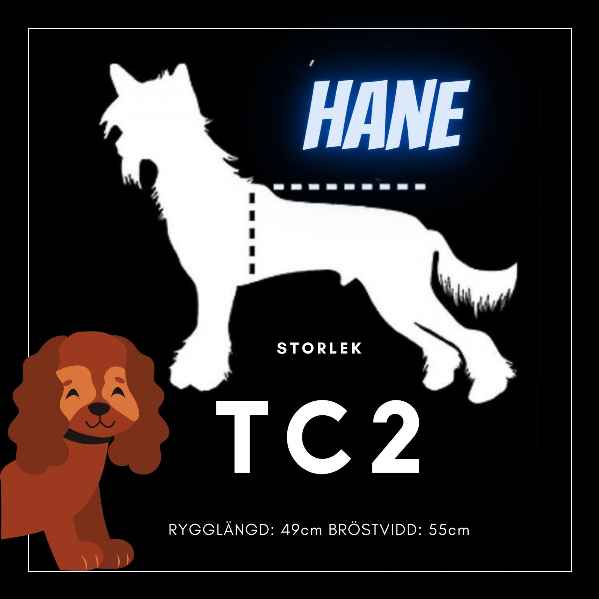 Hane Storlek TC2 - Passion For Pet Fashion