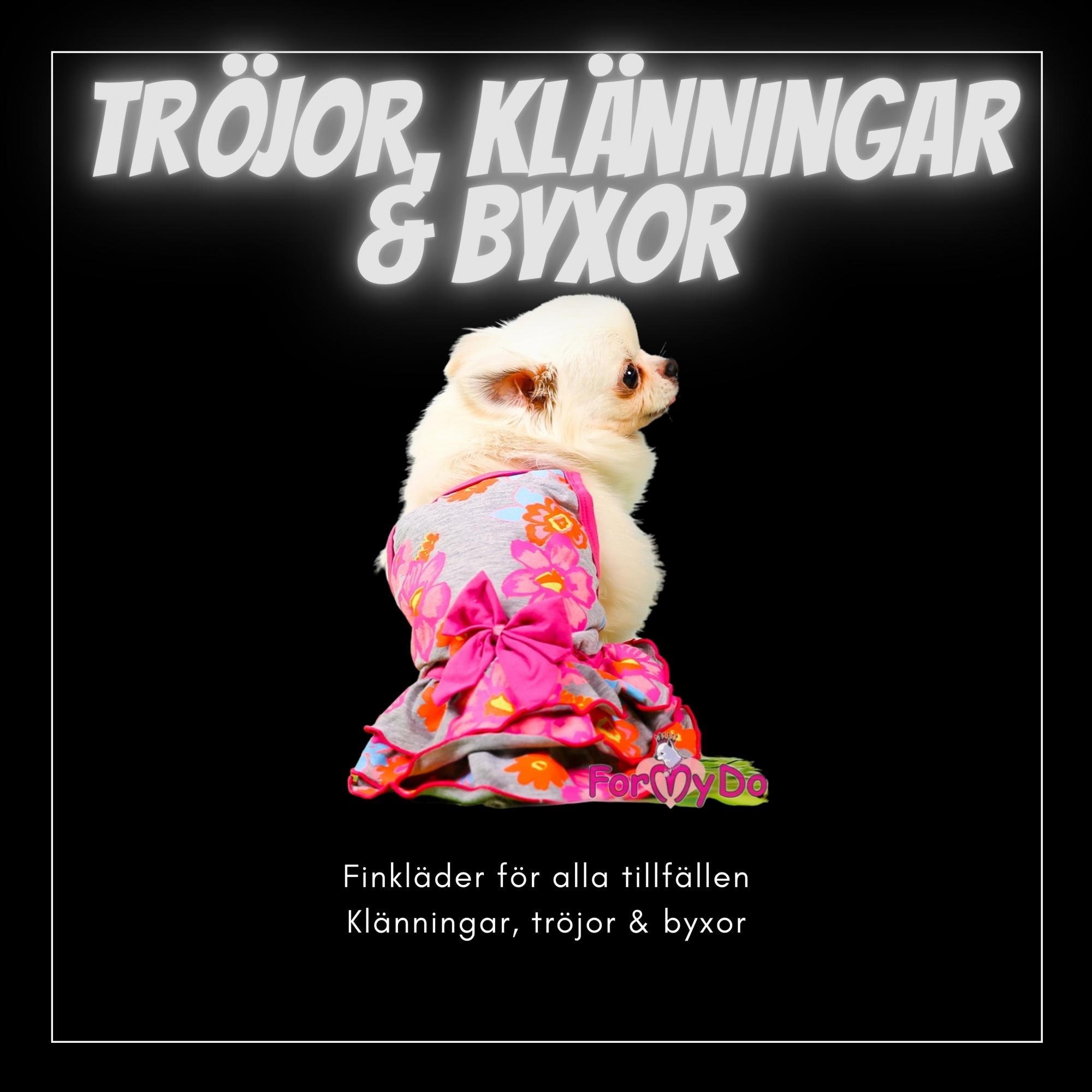 Tröjor, Klänningar, byxor mm - Små hundar - Passion For Pet Fashion
