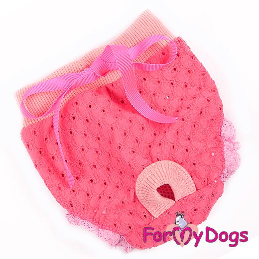 "Tikskydd ""Pink N pink"" För tik ""For My Dogs"""